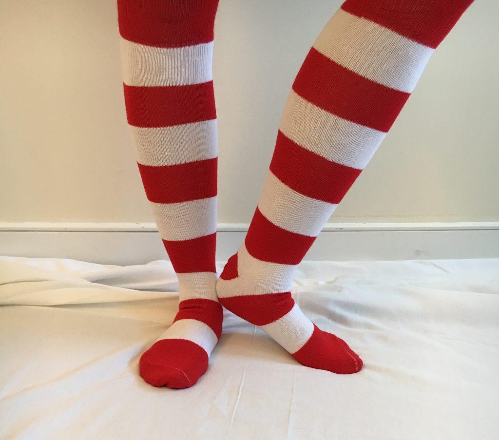 Rmhc Striped Socks Ronald Mcdonald House Charities Of Maine