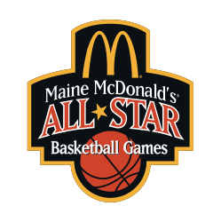 Maine McDonald's All Star Basketball Logo